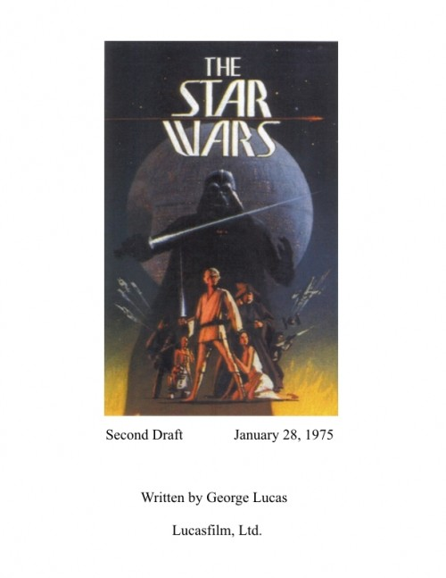 The Star Wars Second Draft