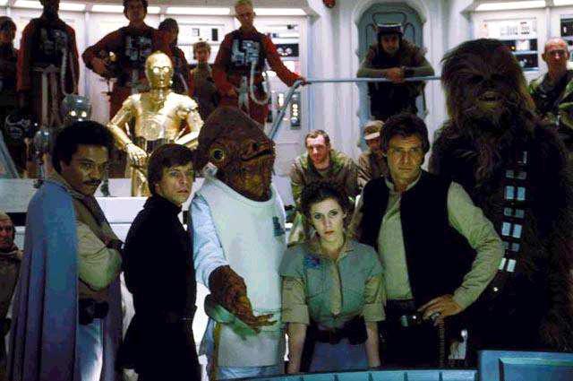 The Battle Above Endor T Bone S Star Wars Universe