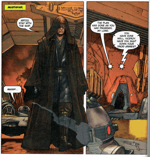 star wars revenge of the sith comic pdf