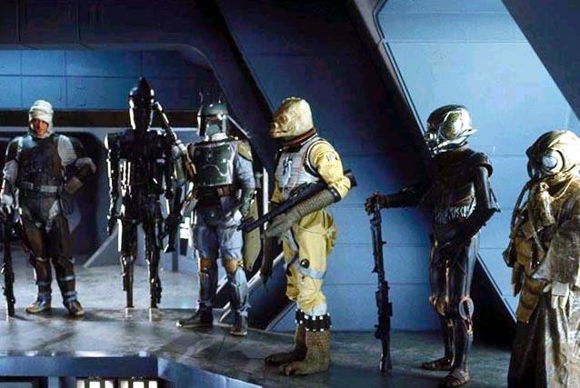 Star Wars Galactic Heroes Bounty Hunter Zuckuss Empire Strikes Back