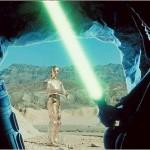 Luke builds his lightsaber